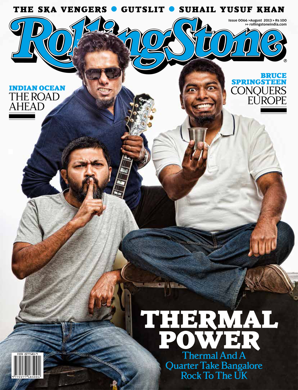 TAAQ on the cover of Rolling Stone Magazine